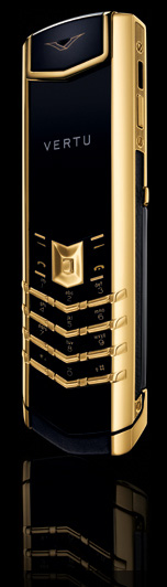 копия vertu signature s design gold