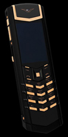 Копия Vertu Signature S Design Pure Black Red Gold