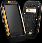 Копия Tag Heuer Link телефон Full Gold Black