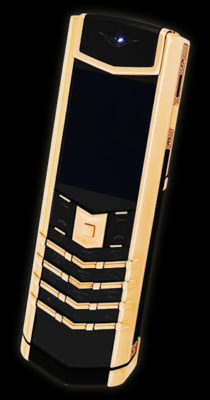 копия vertu signature s design exclusive gold